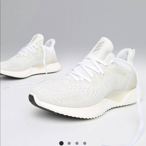 detailed look 52007 e381e adidas Shoes - Adidas alpha bounce off white